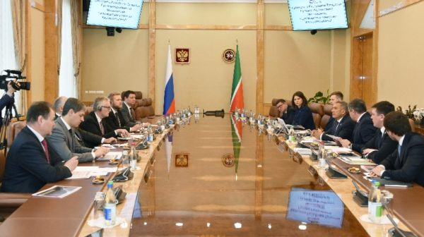 Negotiations with KaukoInternational and Tatarstan president restoration of silt field sludge field