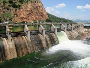 Picture. Dam basin